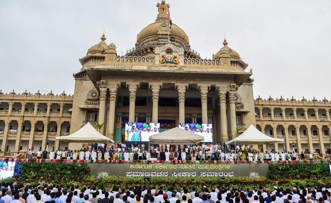 2 Karnataka Congress Leaders, Facing Disqualification, Meet Siddaramaiah