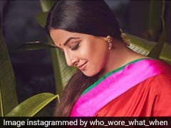 Vidya Balan, 3 Times A Charm, Proves That Nobody Wears The <i>Saree</i> Quite Like Her