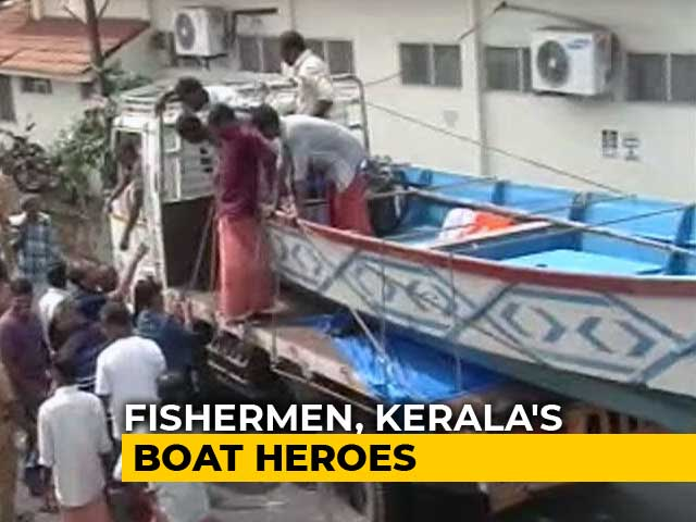 Video : In Pocket Of Flood-Hit Kerala, Fishermen Saved A Hundred Lives