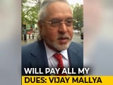 Video : Vijay Mallya Offers To Sell Assets Worth 13,900 Crores To Repay Loans