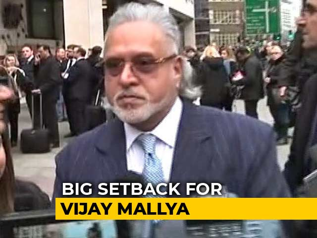 Video : Vijay Mallya Asked To Pay 200,000 Pounds To Indian Banks By UK Court