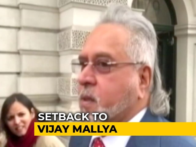 Video : Vijay Mallya's UK Home Can Be Searched, Assets Seized In Win For Banks