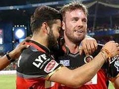 "Virat Kohli Posts Emotional Farewell Message To ""Brother"" AB de Villiers"