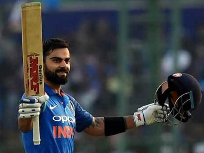 Kohli wins India's cricketer of the year award for fifth time