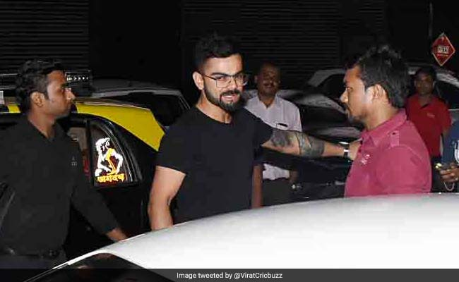 virat kohli and anushka sharma spotted in mumbai last night