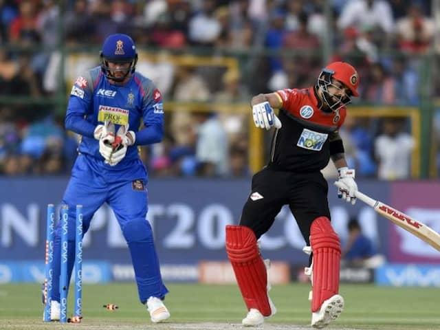 IPL 2018, RR vs RCB: Krishnappa Gowtham Goes Boom After Dismissing Virat Kohli