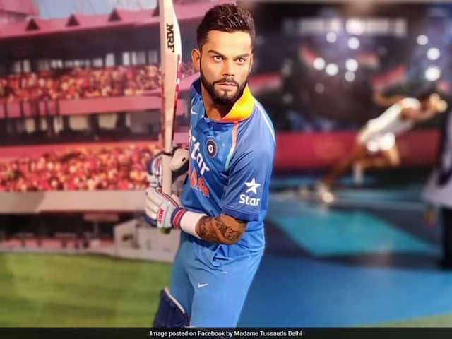 Virat Kohlis Wax Statue Unveiled At Madame Tussauds