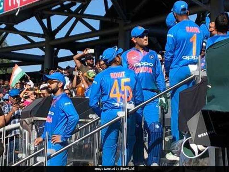"Virat Kohli Shares Photo With MS Dhoni, Reveals His ""Most Exciting Feeling"""