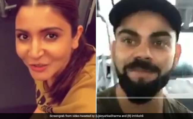 विराट कोहली ने पत्नी अनुष्का शर्मा को दिया चैलेंज, तो Video में मिला ये जवाब