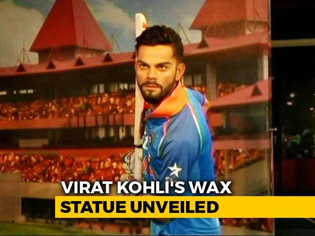 Video : Virat Kohli's Wax Statue Unveiled At Madame Tussauds