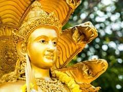 பங்களாதேஷில் மீட்க்கப்பட்ட விஷ்ணு சிலை