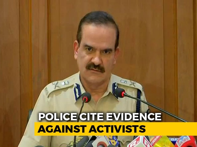"Video : Rajiv Gandhi-Like Plot To End ""Modi Raj"", Say Police On Activists"