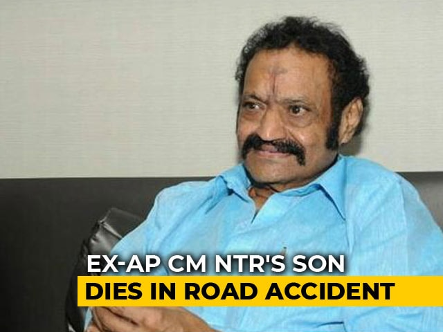 Video : Nandamuri Harikrishna, Son Of Ex-Andhra Chief Minister, Dies In Accident