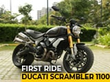 Video : Ducati Scrambler 1100 First Ride Review