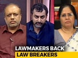 Video : Support Pours For Lynching Accused: Lawmakers Back Lawbreakers?