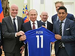 World Cup 2018: Russian President Vladimir Putin To Attend Tournament Final