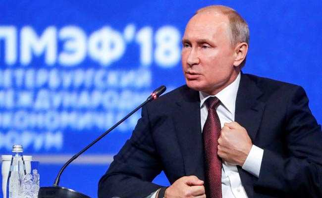 Putin reveals when he will step down as Russian Federation president