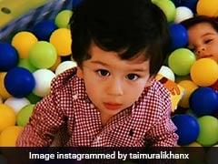 तैमूर अली खान ने इंटरनेट पर फिर मचाई सनसनी, स्टार किड्स के साथ बाथटब में यूं की मस्ती; देखें Video