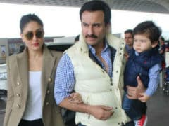 When Saif Ali Khan Is Home From Work, Guess Who Lights Up 'Like A 1,000-Watt Bulb'?