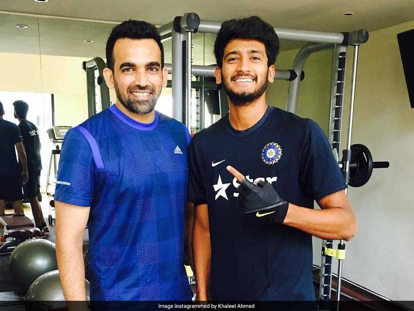 Left arm fast bowler Khaleel Ahmed wants to become like Zaheer Khan