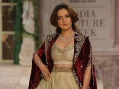 Kangana Ranaut And Aditi Rao Hydari Dazzle At India Couture Week