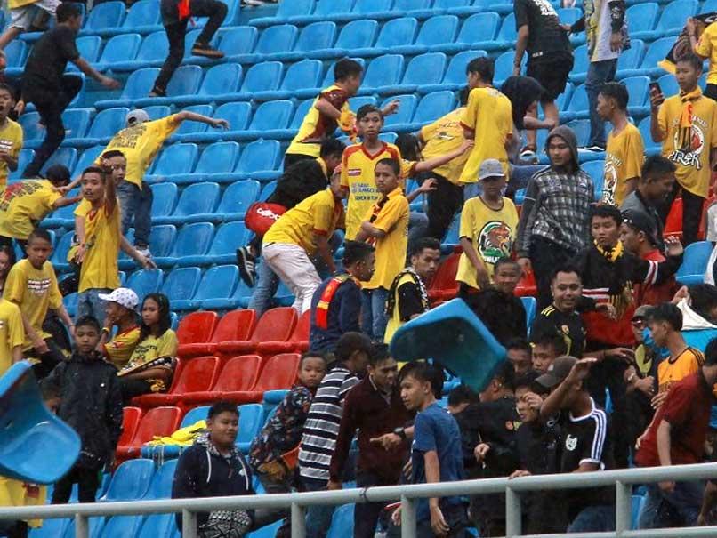 Indonesia Football Fans Damage Asian Games Stadium
