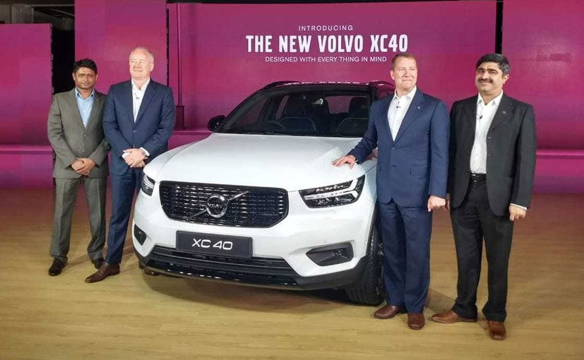 The Volvo XC40 is the most affordable SUV from the Volvo stable