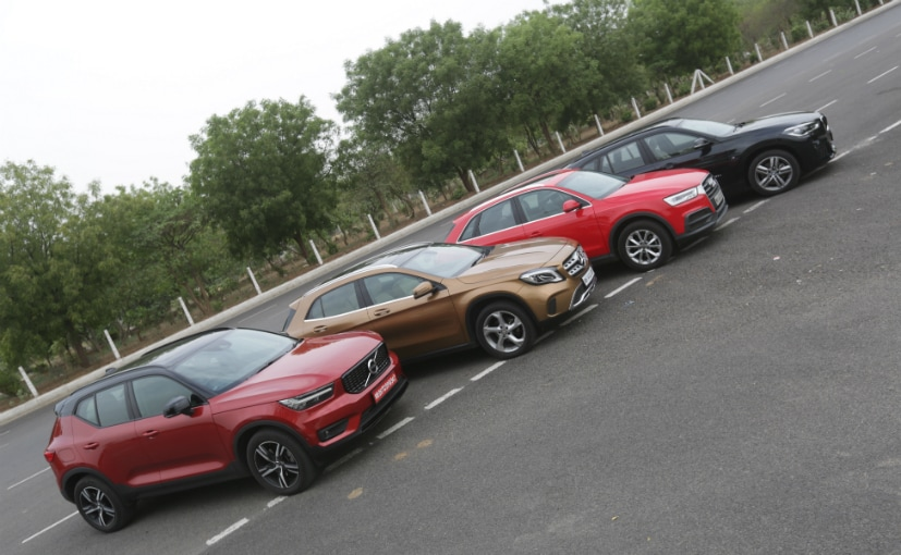 Volvo XC40 vs BMW X1 vs Mercedes-Benz GLA vs Audi Q3