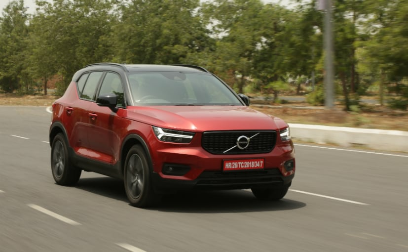 The XC40 SUV Volvo's most affordable product in India.