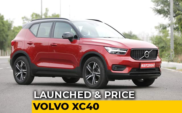 Volvo Xc40 Price In India Images Mileage Features Reviews