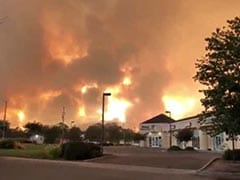 Two Firefighters Die In California Fire 'Tornado', Thousands Flee