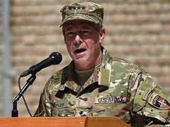 US General Scott Miller Takes Charge Of Forces In Afghanistan