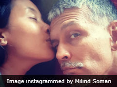 Milind Soman's Birthday Post For Wife Ankita Konwar Is Too Cute For Our Weak Hearts