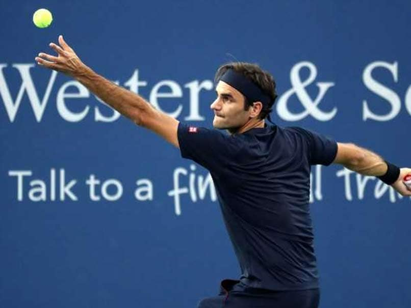 Roger Federer Takes First Step As Eighth Cincinnati Title Beckons