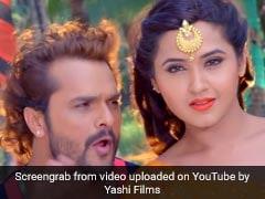 खेसारी लाल यादव की धमाकेदार एंट्री, काजल राघवानी संग 'टांय-टांय फिस...' सॉन्ग पर यूं झूमे... देखें Video