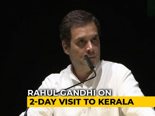 Video: 'Will Form Ministry Of Fishermen': Rahul Gandhi's Promise To Kerala