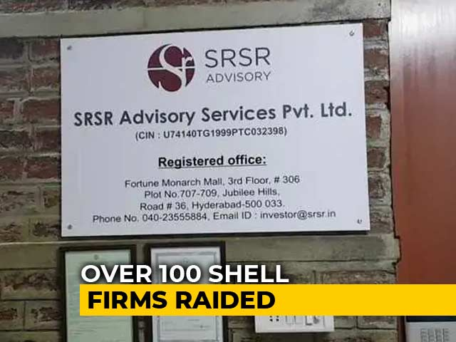 Video : 114 Companies Operate From One Room In Hyderabad, Raids Reveal