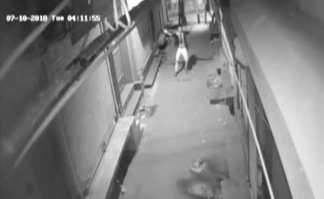 Watch: Delhi Thief's Dance Caught On Camera Before Attempted Break-In
