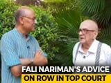 Video : Walk The Talk With Eminent Jurist Fali Nariman