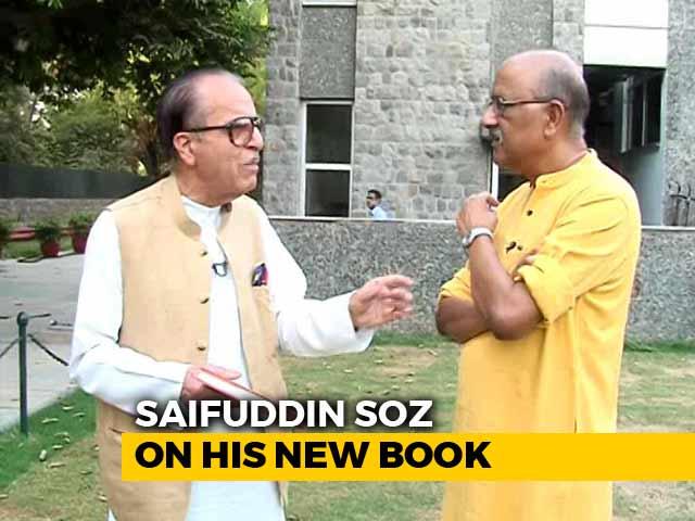 Video : Walk The Talk With Saifuddin Soz