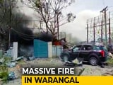 Video : 11 Dead In Huge Fire At Cracker Warehouse In Telangana's Warangal
