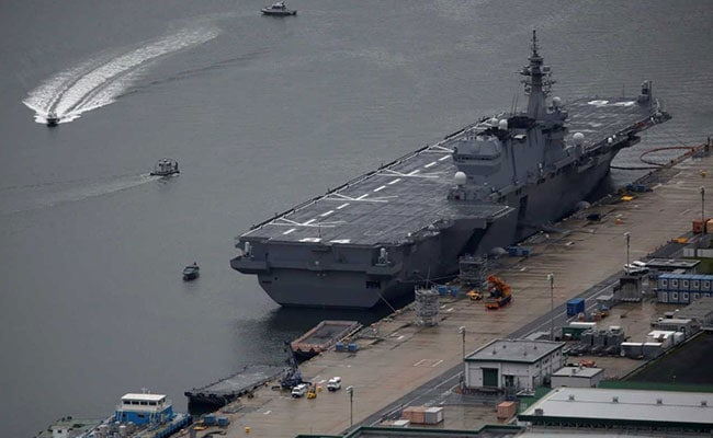 With Eye On China, Japan Sends Warship On Tour Involving Indian Ports