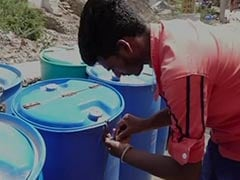 Water Crisis Deepens, Residents Lock Containers In This Rajasthan Village