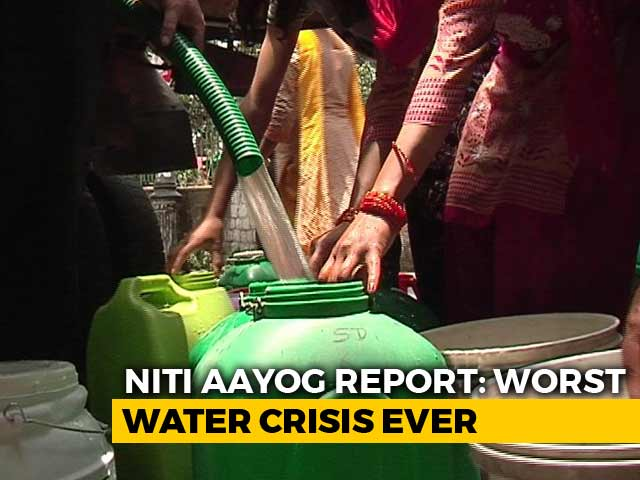 Video : India Facing Worst Water Crisis In History, Will Get Worse: NITI Aayog