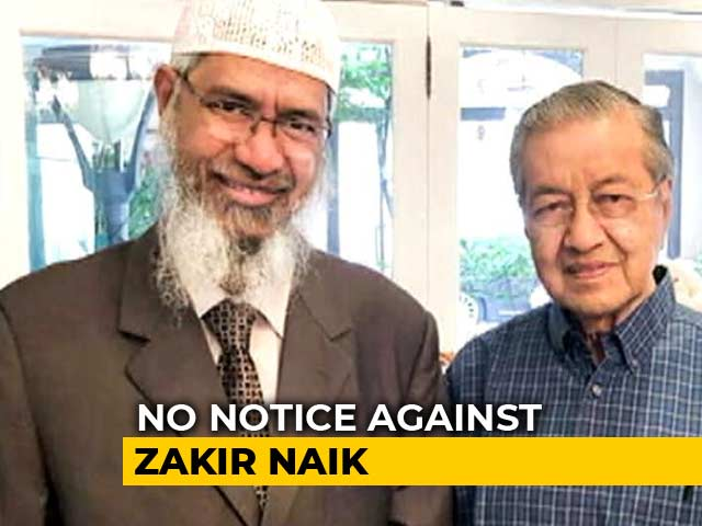 Video : Zakir Naik Extradition Request Held Up At Interpol For 7 Months: Sources