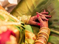 Bride In Tamil Nadu Crosses Flooded River To Reach Her Own Wedding