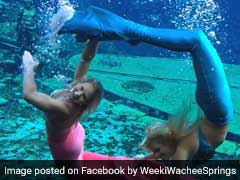 These 'Mermaids' Dance Underwater For Half An Hour At A Time. Here's How
