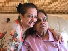 Actor Dilip Kumar Hospitalised Due To Chest Infection