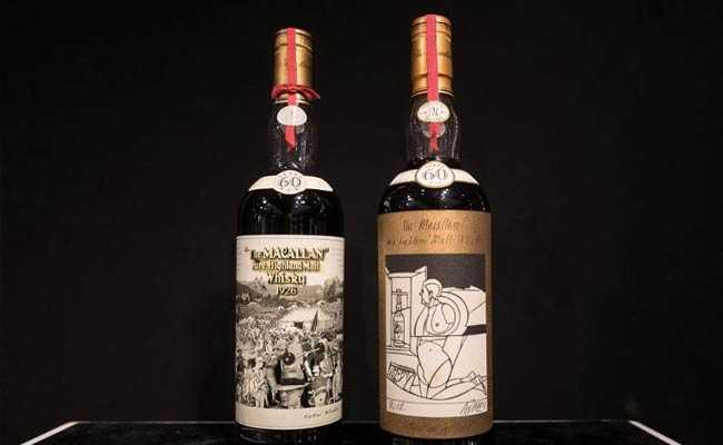 Two Whisky Bottles Fetch Record $1m Each At Hong Kong Auction