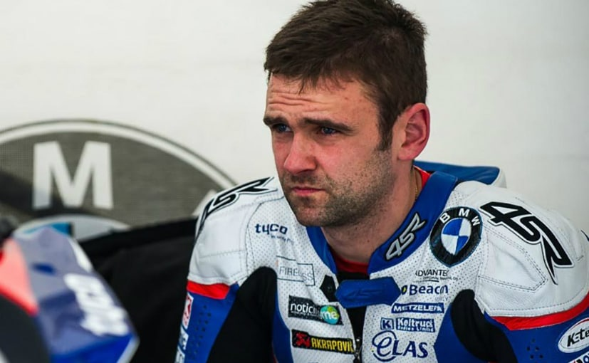 William Dunlop was killed during practice at the Skeers 100 Road Race